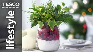 how to make a christmas dining table decoration tesco living