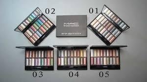 mac eyeshadow 18 colors 5 sets mac eyeshadow makeup kit