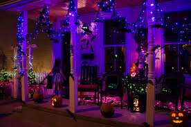 halloween decorated houses inside