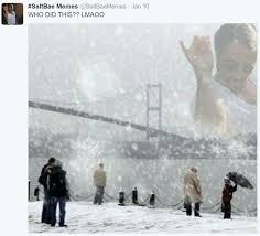 Winter Storm Meme - saltbae meme per my per my