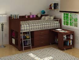 Desk Bunk Bed Combo Bedroom Enchanting Charleston Storage Loft Bed With Desk For Cozy