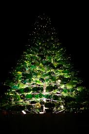 Christmas Tree Made Of Christmas Lights - spirit fm news christmas tree made from plastic bottles to