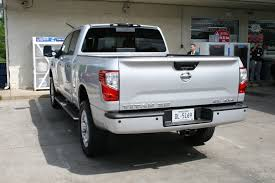 nissan titan truck cap review nissan u0027s gas v8 titan xd has a few advantages over