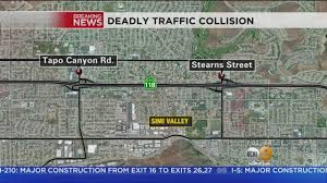 210 Freeway Map Two Killed In 118 Freeway Wreck In Simi Valley Youtube
