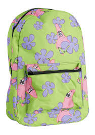 spongebob patrick backpack