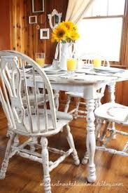 Painted Kitchen Table And Chairscolor Combo For Dining Room Gray - Painted kitchen tables and chairs