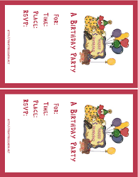 birthday party invitations online free image collections