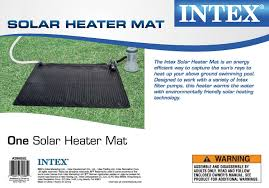 Intex Pool 14x42 Intex Solar Heater Mat For Above Ground Pools Up To 8 000 Gallons