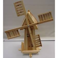 wooden windmill garden ornament buy at qd stores