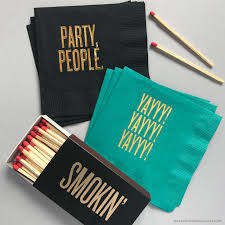 party people cocktail napkins by rbtl read between the lines