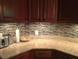Backsplash Ideas For Kitchens With Granite Countertops Glass Backsplash White Kitchen Tile Modern For Kitchens Dark