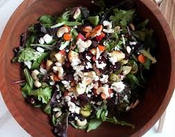 roasted winter veggie salad healing whole nutrition