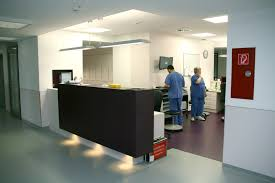 healthcare corridors and circulation areas glamox