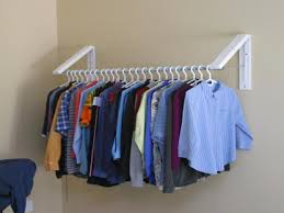 Laundry Room Clothes Rod Cool Clothes Wall Hanger Best Ideas Tikspor
