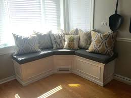 Corner Bench Seating With Storage Fascinating Corner Bench Seat With Storage White Kitchen Bench