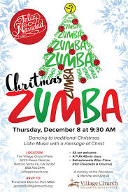 tamara christmas zumba village church rancho santa fe ca