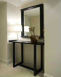 Black Console Table With Storage Gorgeous Black Entryway Table With Narrow Black Console Table