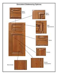 Cabinet Wood Doors Distressing Options For Cabinet Door And Components Walzcraft