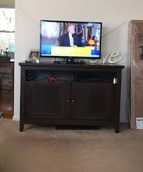 Tv Tables At Walmart Better Homes And Gardens Parker Tv Stand For Tvs Up To 55
