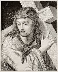 jesus carrying the cross created by del piombo published on