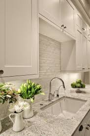 Backsplash Ideas For Kitchens With Granite Countertops Best 25 Kitchen Granite Countertops Ideas On Pinterest White