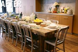 Emmerson Dining Table Party Entertain Furniture Saveur Magazine - Diy west elm emmerson dining table