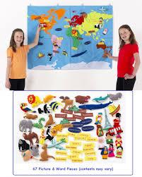 Map Fabric World Map Fabric Wall Hanging