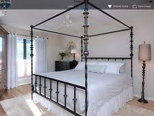 Wrought Iron Canopy Bed Iron Canopy Bed Ebay