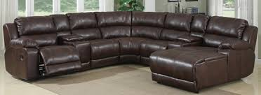 Seven Piece Reclining Sectional Sofa by Laramie Sectional Bailey U0027s Furniture