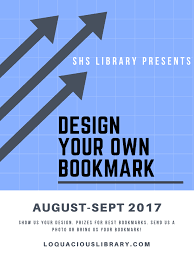 bookmark contest loquacious library