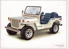 concept jeep concept jeep ii 1977 jeep willys world