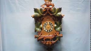 Blue Cuckoo Clock Schatz 8 Day Cuckoo Clock With Jahresuhrenfabrik Movement Youtube