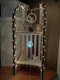 Wohnzimmer Winterlich Dekorieren Vintage Schlitten Weihnachtlich Dekoriert Diy Xmas Advent