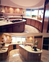 kitchen islands with dishwasher awesome circular brown color wooden kitchen island come with cream