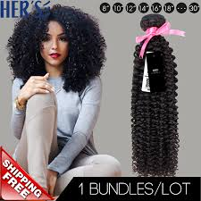 3a Curly Hair Extensions by Hers Brazilian Curly Virgin Hair Weave 1pc 7a Unprocessed Jerry