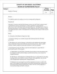 employee training program template eliolera com