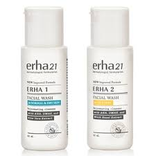Sabun Erha erha wash erha 1 for normal skin erha 2 for