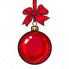 ribbon and bows christmas balls with ribbon and bows stock vector
