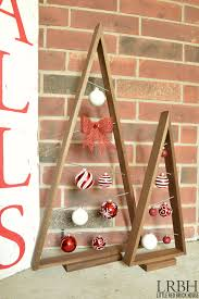 knock crate barrel ornament trees domestically speaking
