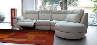 canap d angle arrondi cuir canapé d angle contemporain en cuir 4 places pandora