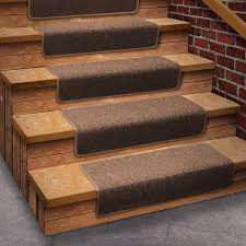 stair treads rubber or vinyl wooden vinyl plank stair treads