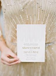 winter glam art deco wedding inspiration in gold white and