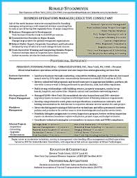 Property Management Resume The Most Excellent Business Management Resume Ever