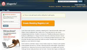 search wedding registry magento gift registry magenest magento extension