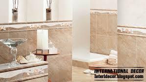 bathroom ceramic tile design ideas tile patterns for shower walls bathroom wall tiles design beige