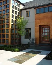 front entry reflections from wandsnider landscape architects