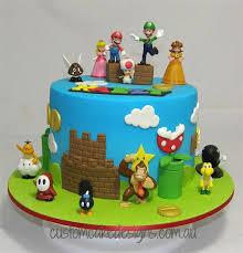 mario cakes cakes for boys custom cake designs perth