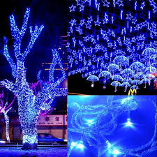 Light String Christmas Tree by 50m 300 Led Blue Lights Decorative Wedding Fairy Christmas Tree