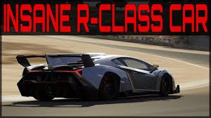 Lamborghini Veneno Forza 6 - rwd lamborghini veneno race build forza 6 insane r class car