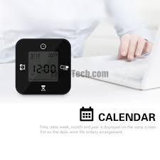 desk alarm clock em1203a smart 4 in 1 alarm clock morning with calendar timer alarm